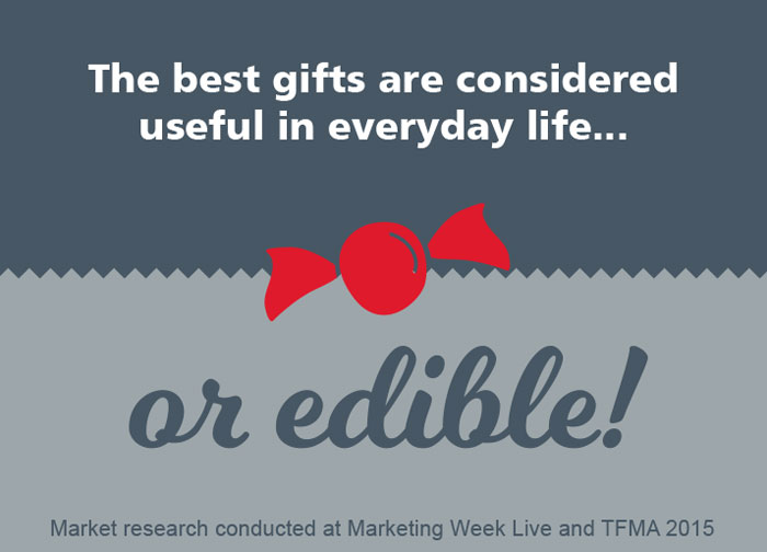 The best gifts are considered useful in everyday life or edible!