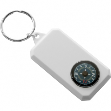Plastic Key Holder, Compass