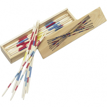 Mikado Game In Wooden Box