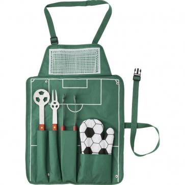 5 Pcs Football Barbecue Set