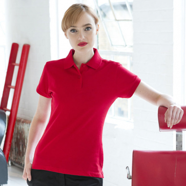 Women's Stretch Piqué Polo