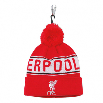 Adult Liverpool Fc Text Beanie