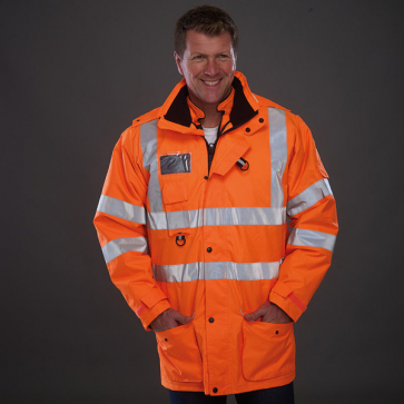 High Visibility Multi-Functional 7-In-1 Jacket