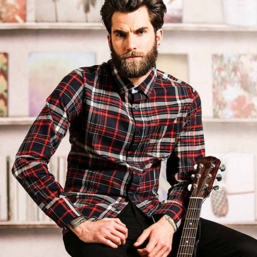 Tame - Long Sleeve Check Shirt