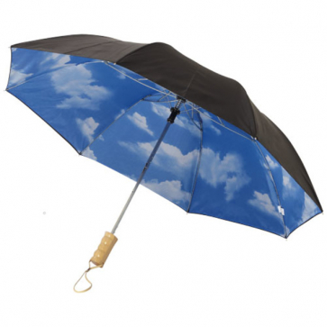 21'' Blue Skies 2-Section Automatic Umbrella