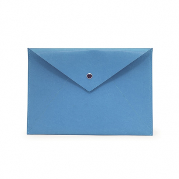 PU a4 Document Wallet with Press Stud Closure