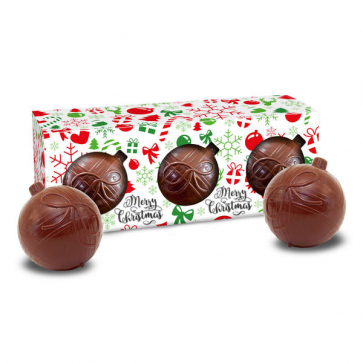 "Chocolate Baubles ""3 In 1"""