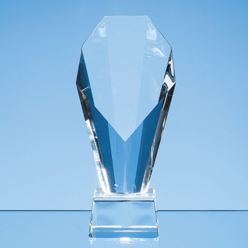 Optical Crystal Mounted Diamond Award