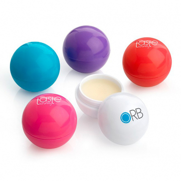Ball Shaped Lip Balm