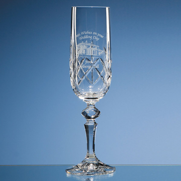 Flamenco Crystalite Panel Champagne Flute