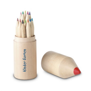 Coloret 12 Pencils In Wooden Box