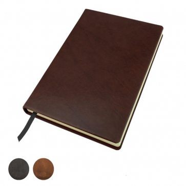Richmond Deluxe Nappa Leather A5 Casebound Notebook