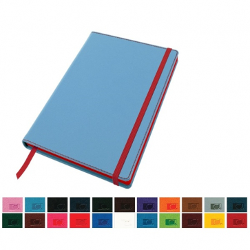 Accent A5 Notebook with a Belluno Soft Touch Cover