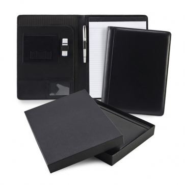 Sandringham Nappa Leather A4 Conference Pad Holder