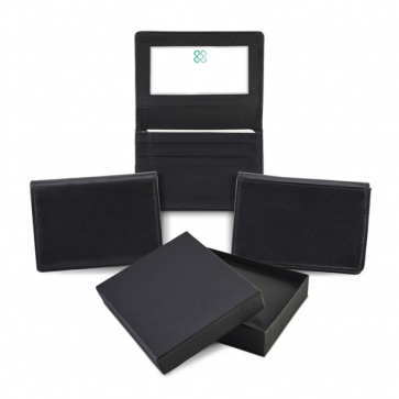 Sandringham Nappa Leather Business Card Holder with Travel or Oyster Card  Window  e7b901285a5f