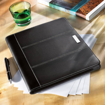 Cordobel A4 Bonded Leather Portfolio