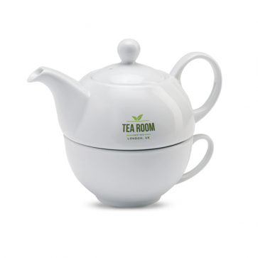 Tea Time Tea Pot And Cup Set