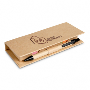 Stibox Desk Set In Brown Paper Box