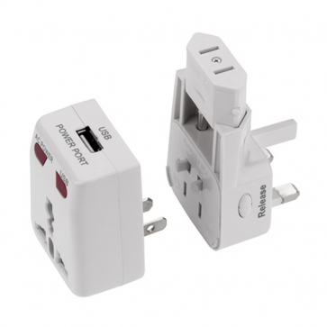 One World USB Travel Adaptor