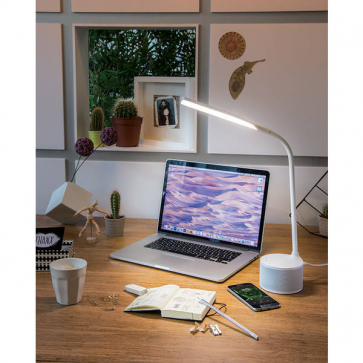 USB 10W Charging Lamp and 2.5W Speaker