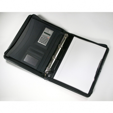 Warwick A4 Zipped Ring Binder Folder