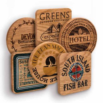 Solid Wood Coasters