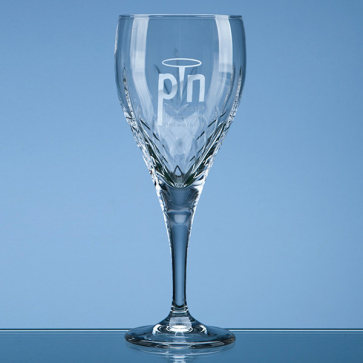 Mayfair Crystalite Panel Goblet