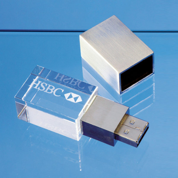 4GB Optical Crystal Memory Stick