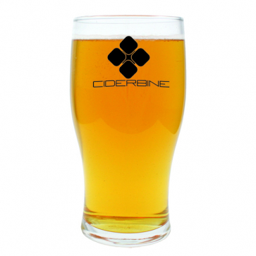 Tulip Pint Glass CE mark