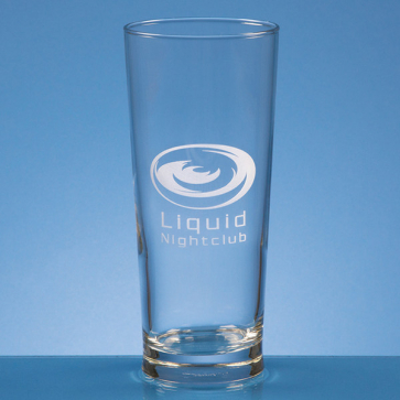 Straight Sided Beer Glass