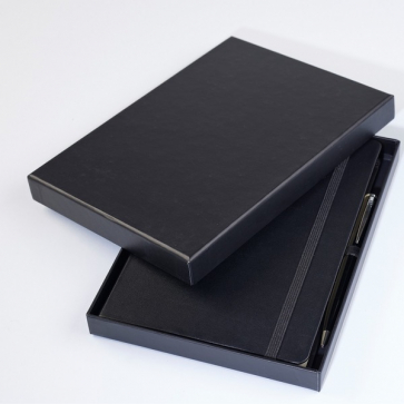 Black Lid Box for a5  notebooks will also fit a pen