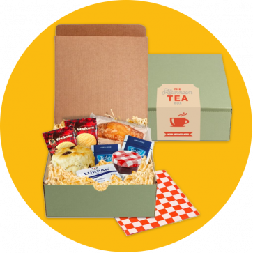 Square Gift Box - Afternoon Tea