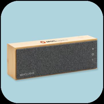 Wynn 10W Wireless Bamboo Speaker