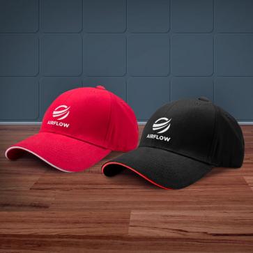 Sandwich Trim Branded Baseball Cap