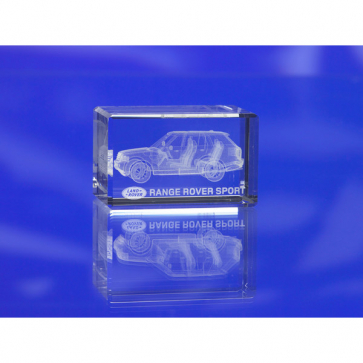 Crystal 3D Paperweight