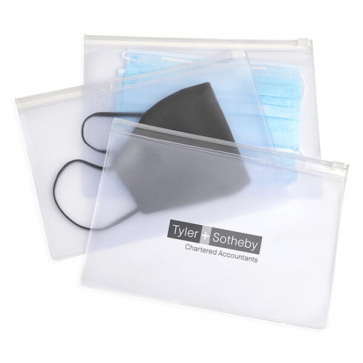 Face Mask Zippered Pouch