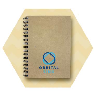 Enviro-Smart - Natural Cover Wiro-Bound Pad