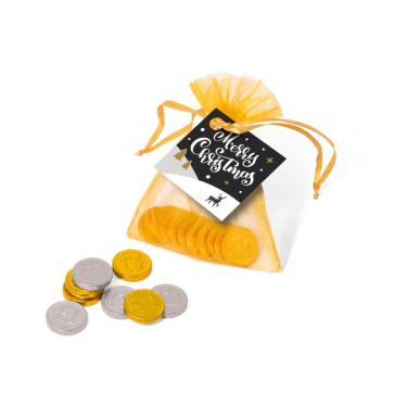 Winter Collection 2020 – Organza Bag - Chocolate Coins
