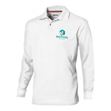 Point Long Sleeve Polo.
