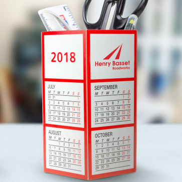 Calendar/Pen Pot