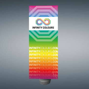 Outdoor Double Sided X Tension Banner
