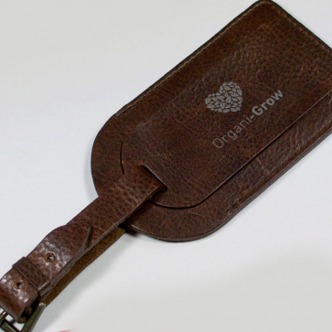 Ashbourne Leather Luggage Tag