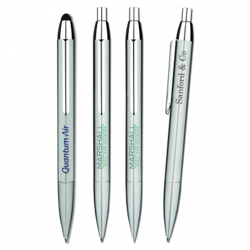Serina Stainless Steel Ballpen And Mechanical Pencil Set