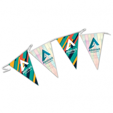 Triangular Waterproof Poly Bunting
