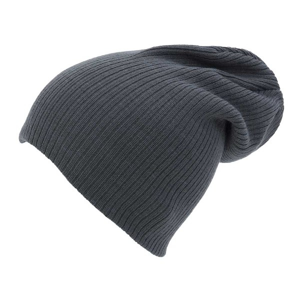 8212ae63e84 Ribbed Slouch Beanie Hat · Zoom