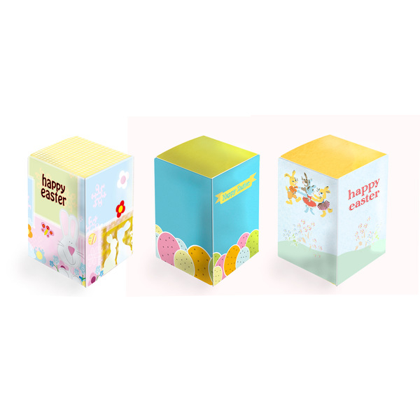 Easter Egg Box - A good opportunity for branding your promotional Easter gifts