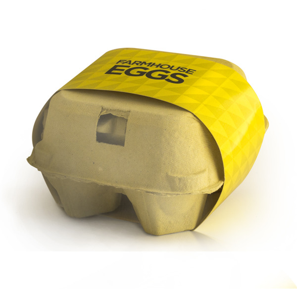 Farmhouse Eggs - a quirky way to offer up chocolate as a Promotional Easter Gift