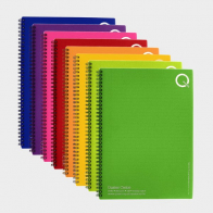 Recycled Polypropylene A4 Notebook