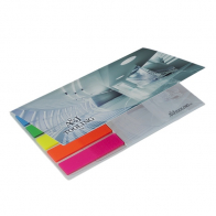 BIC® Adhesive Notepad With Flag Booklet