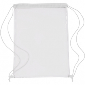 Transparent PVC Drawstring Bag